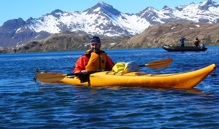 Kayaking South Georgia - Hayley Crowden