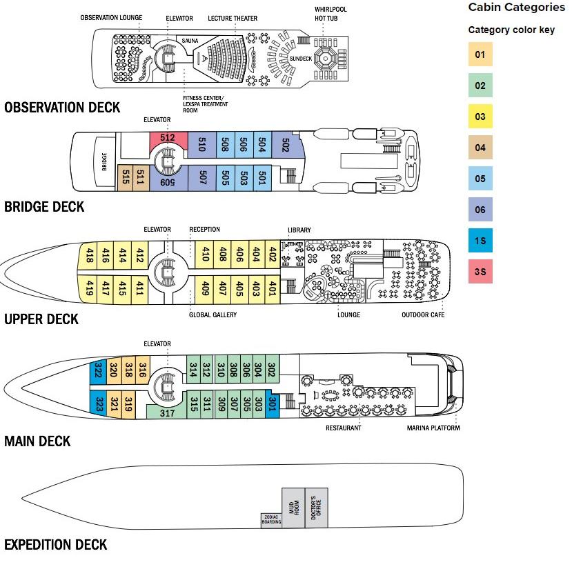 Nat Geo Origin deckplan