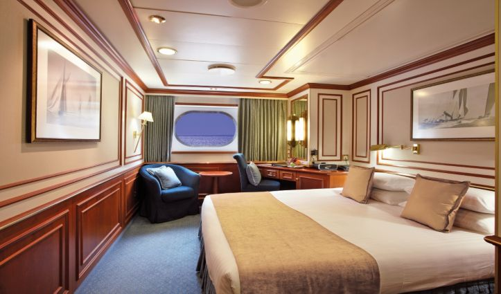National Geographic Orion, Category A Stateroom