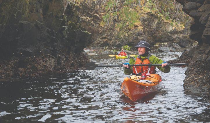 Kayaking Scotland - Aurora