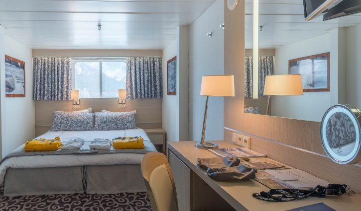 Ocean Diamond, Cabins, Twin Window