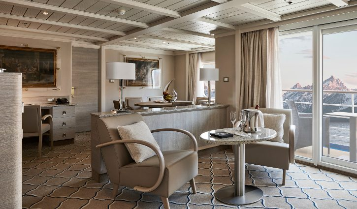 Silver Cloud, Owners Suite
