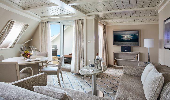Silver Cloud, Royal Suite