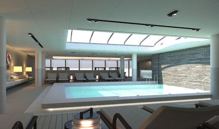 Pool Area Le Commandant Charcot