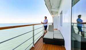 Bridge Deck Balcony Suite