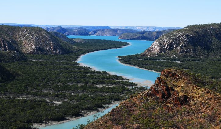 Kimberley Hunter river near HZ falls