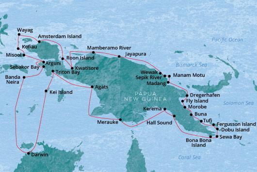 PNG Circumnavigation Coral Adventurer