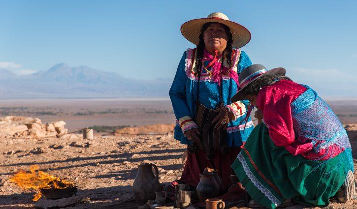SILVERSEA ONLY Antofogasta, Atacama Desert, Chile, Pacha Mamas ceremony,