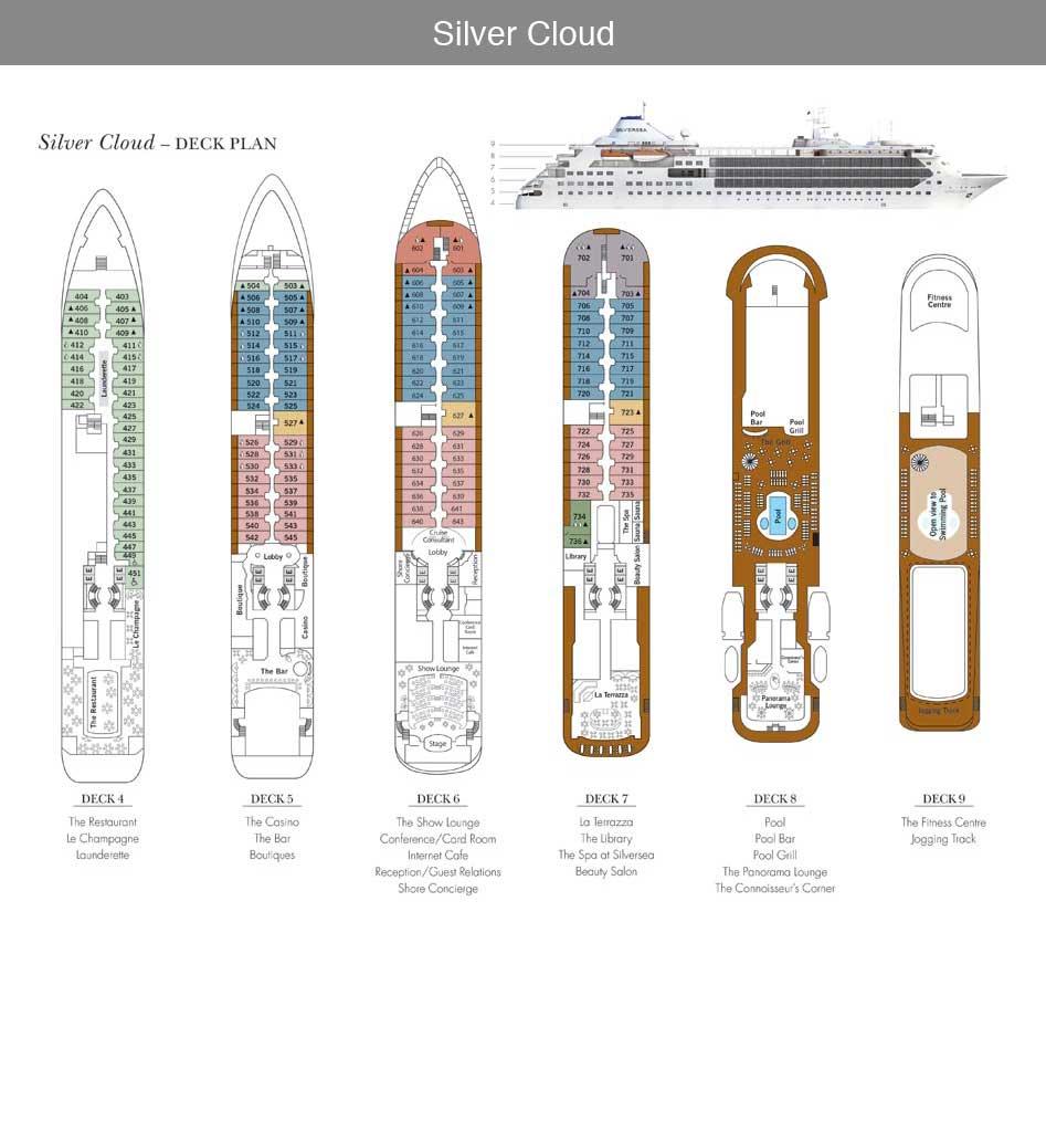 SilverCloud Deck Plan