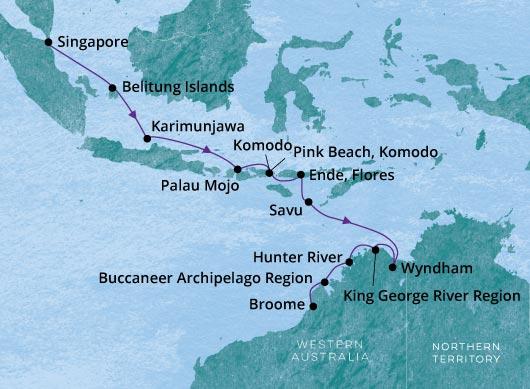 Singapore - Broome Silver Explorer