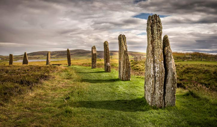 Ring of Brodgar, Orkney Scotland