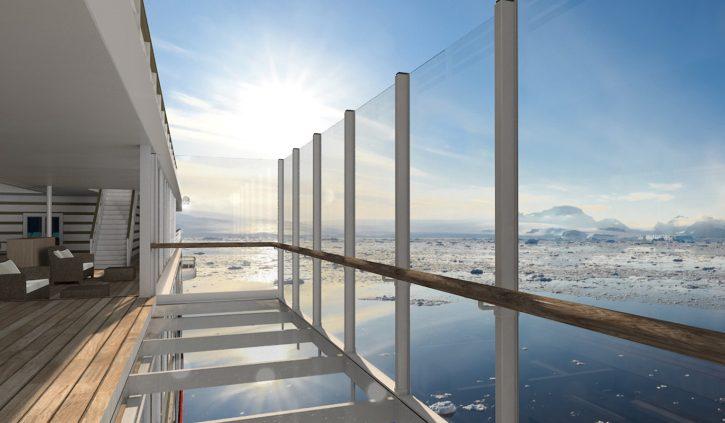 Glass balcony HANSEATIC inspiratio
