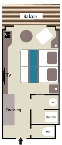 deluxe stateroom le lyrial plan